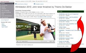 Indefatigable Isner